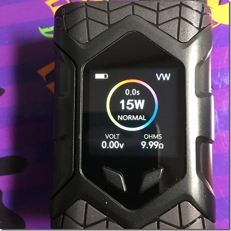 IMG 27331 thumb - 【レビュー】「VAPTIO WALLCRAWLER KIT(ヴァプティオウォールクラウラーキット)」レビュー。カラー液晶で観やすく、操作も簡単スターター!【電子タバコ/スターター】