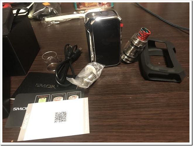IMG 6840 thumb - 【レビュー】SMOK G-PRIV2 230W TC Kitレビュー!230WのハイパワーMODに爆煙クリアロマイザーをセットにした爆煙入門機!タッチパネル搭載で楽々操作のMODにも注目だ!