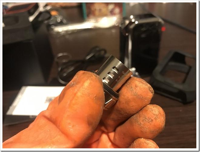 IMG 6847 thumb - 【レビュー】SMOK G-PRIV2 230W TC Kitレビュー!230WのハイパワーMODに爆煙クリアロマイザーをセットにした爆煙入門機!タッチパネル搭載で楽々操作のMODにも注目だ!