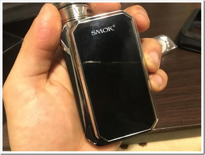 IMG 6851 thumb - 【レビュー】SMOK G-PRIV2 230W TC Kitレビュー!230WのハイパワーMODに爆煙クリアロマイザーをセットにした爆煙入門機!タッチパネル搭載で楽々操作のMODにも注目だ!