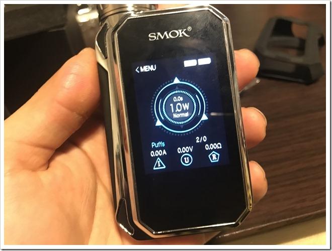 IMG 6856 thumb - 【レビュー】SMOK G-PRIV2 230W TC Kitレビュー!230WのハイパワーMODに爆煙クリアロマイザーをセットにした爆煙入門機!タッチパネル搭載で楽々操作のMODにも注目だ!