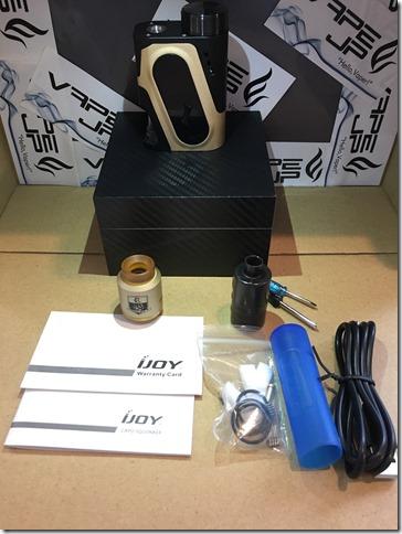 IMG 9566 thumb - 【レビュー】IJOY CAPO SQUONKER KIT(アイジョイカポスコンカーキット)~3種類の電池対応のお手軽スコンカーキット<*`∀´*>~【VWスコンカーMOD】