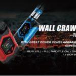 WALL CRAWLER KIT THRONE TANK 1.width 2560 thumb 150x150 - 【レビュー】アメリカンでめっちゃカッコいい!嬉しくて叫び出しちゃうかも、、な☆☆☆スターターキットCapt'n 220W Kit by VAPTIO