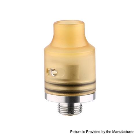 authentic-demon-killer-tiny-rda-rebuildable-dripping-atomizer-yellow-pei-stainless-steel-14mm-diameter