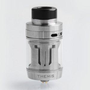 authentic digiflavor themis rta rebuildable tank atomizer dual coil version silver stainless steel 5ml 27mm diameter thumb 300x300 - 【レビュー】自巻きメッシュコイルならコレ▶DIGIFLAVOR「THEMIS RTA Mesh Version(テミスRTA)」で混じりけのないフレーバーを!!