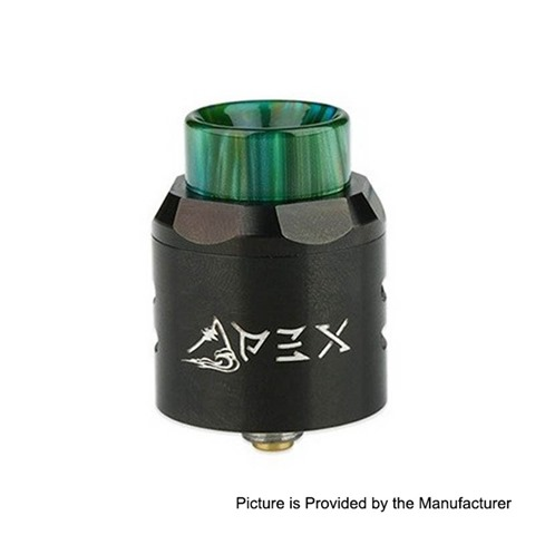authentic timesvape apex rda rebuildable dripping atomizer w bf pin black stainless steel 25mm diameter thumb - 「Timesvape Mask RDA」「Timesvape APEX RDA」「Dovpo Armour 130W Squonk Box Mod + BF RDAキット」