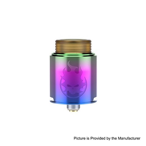 authentic-vandy-vape-phobia-rda-rebuildable-dripping-atomizer-w-bf-pin-rainbow-stainless-steel-24mm-diameter