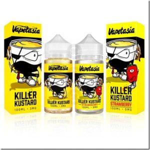 killer kustard 1 thumb 300x300 - 【レビュー】HILIQ (ハイリク) トロピカルレインフォレスト~ハイリクさん…南国雨森って何味なの(ΦдΦ)?~【リキッド】