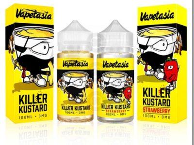 killer kustard 1 thumb 400x300 - 【レビュー】Killer Kustard Strawberry 100ml(キラー・カスタード・ストロベリー)~定番のバニカスにみんな大好きいちごをプラス(*´ω`*)~【リキッド】