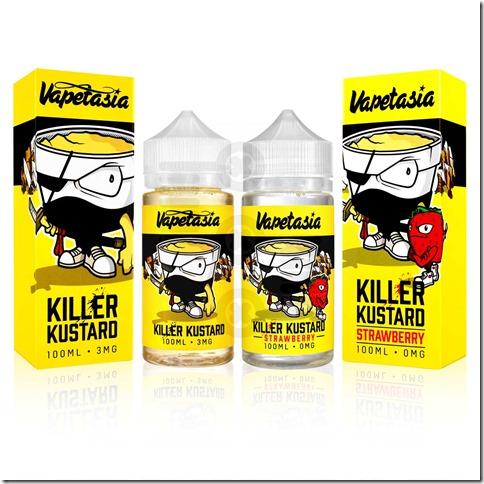 killer kustard 1 thumb - 【レビュー】Killer Kustard Strawberry 100ml(キラー・カスタード・ストロベリー)~定番のバニカスにみんな大好きいちごをプラス(*´ω`*)~【リキッド】