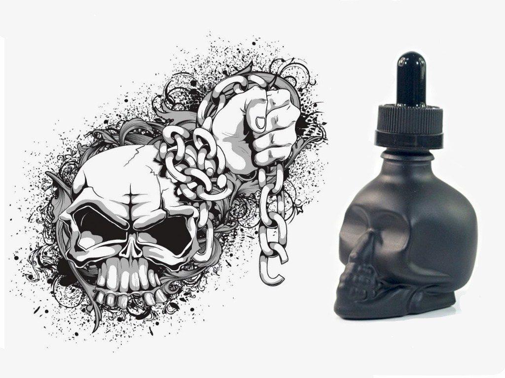 nipponvape skull 1024x768 - 【レビュー】激安国産リキッドNIPPONVAPEの骸骨なあいつ。スターターにピッタリなDEADLY シリーズとDevilシリーズ実飲。