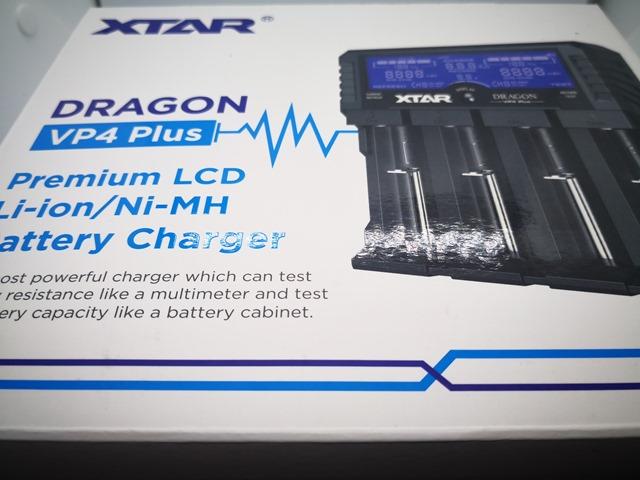 IMG 20180205 231132 thumb - 【レビュー】「XTAR DRAGON VP4 Plus」(エクスタードラゴンブイピーフォープラス)最大4本2A充電可能なXTARマルチ最強充電器【XTAR/バッテリー充電器】