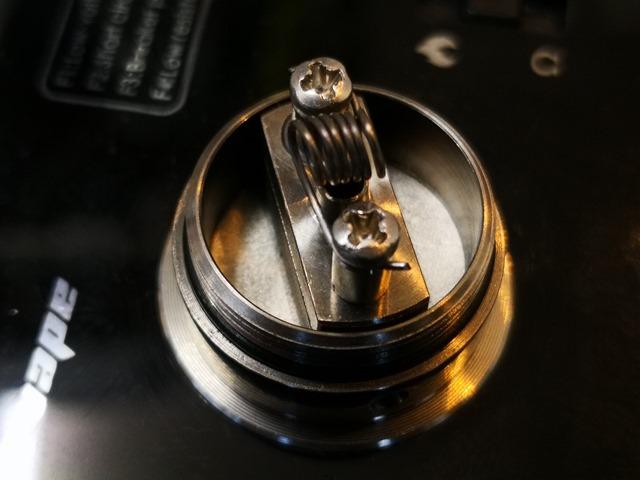 IMG 20180207 151827 thumb - 【レビュー】「Achilles mini RDA/RBA by Titanium Mods」(チタニウムモッズ・アキレスミニRDA)レビュー。アキレス(Achilles II RDA)をちっちゃく!したらこうなったチタン製軽量ドリッパー。フレーバーチェイス向け