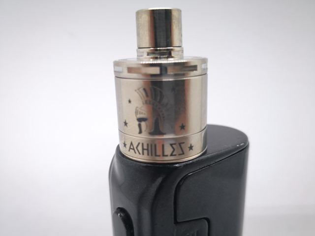 IMG 20180208 094451 thumb 1 - 【レビュー】「Achilles mini RDA/RBA by Titanium Mods」(チタニウムモッズ・アキレスミニRDA)レビュー。アキレス(Achilles II RDA)をちっちゃく!したらこうなったチタン製軽量ドリッパー。フレーバーチェイス向け