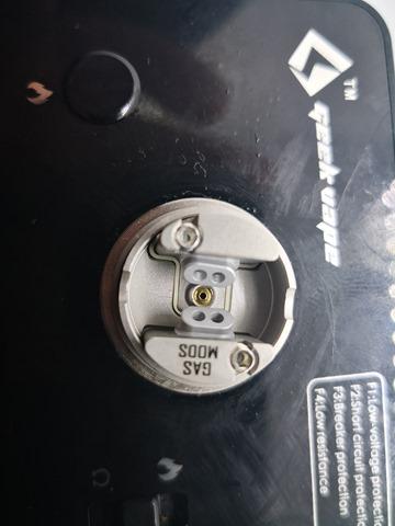 IMG 20180213 125350 thumb - 【レビュー】GAS MODS G.R.1 RDA(ガスモッズ・ジーアールワンアールディーエー)。タイトなデッキが特別なミストを演出するシングルドリッパー!【ボトムフィード対応】