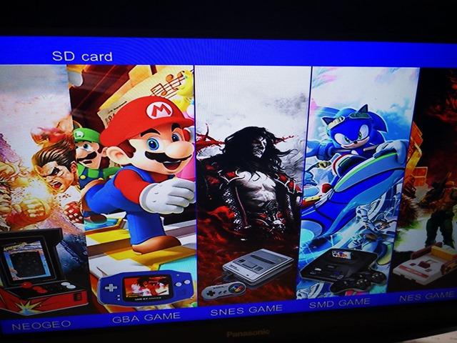 IMG 20180213 215921 thumb - 【レビュー】Xgame Retro HD TV Video Game Consoleレビュー。ファミコン、スーファミ、ゲームボーイアドバンス、アーケード、メガドラが遊べちゃうアレ。