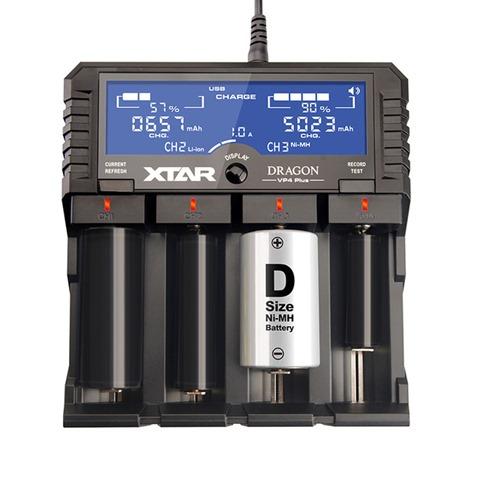 Xtar VP4 640x640 thumb - 【レビュー】「XTAR DRAGON VP4 Plus」(エクスタードラゴンブイピーフォープラス)最大4本2A充電可能なXTARマルチ最強充電器【XTAR/バッテリー充電器】