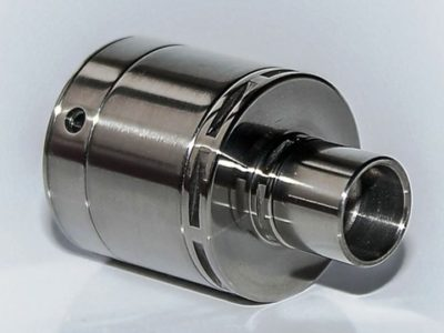 atomizer achilles full titanium thumb 400x300 - 【レビュー】「Achilles mini RDA/RBA by Titanium Mods」(チタニウムモッズ・アキレスミニRDA)レビュー。アキレス(Achilles II RDA)をちっちゃく!したらこうなったチタン製軽量ドリッパー。フレーバーチェイス向け
