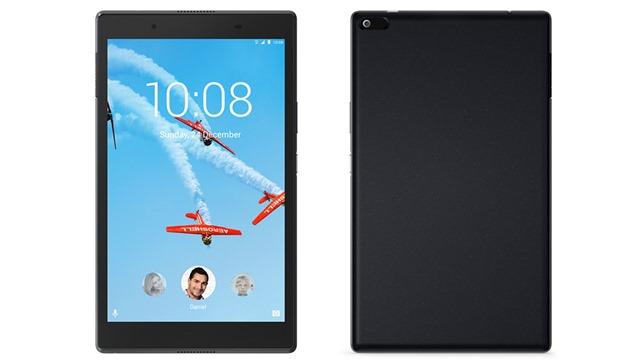 lenovo tab 4 8 black front rear 1 thumb - 【レビュー】「Lenovo Tab4 8 Plus」(レノボタブフォーエイトプラス)Androidタブレットレビュー。スナドラ搭載ファミリーで使えるプレミアム8インチタブ!【Hulu/Netflix視聴快適】