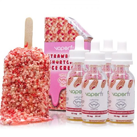 vf strawberryshortcakeicecreamcraftedbycosmicfogexclusivelyforvaporfi1 700x700 thumb - 【リキッド】Vapor Fiより「STRAWBERRY SHORTCAKE ICE CREAM」「MILKY PEBBLES VAPE JUICE」どっちもおいしいUSAプレミアムフレーバー!
