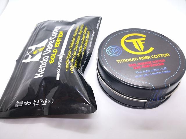 IMG 20180305 173011 thumb - 【レビュー】「Titanium Fiber Cotton(チタニウムファイバーコットン)」レビュー。吸水性、耐水性に優れるリキッド供給速度抜群の100%インドネシア産コットン!Promist Vaporさんおススメ!ケンドーコットンとの比較もあるよ