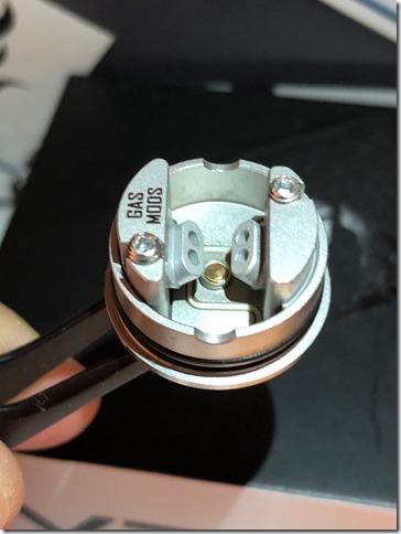 IMG 9816 thumb - 【レビュー】GAS MODS G.R.1 RDA(ガスモッズ ジー・アール・ワン )レビュー~ロープロシングルドリッパー~【RDA】