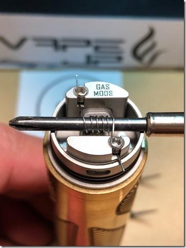 IMG 9820 thumb - 【レビュー】GAS MODS G.R.1 RDA(ガスモッズ ジー・アール・ワン )レビュー~ロープロシングルドリッパー~【RDA】