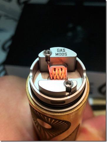 IMG 9822 thumb - 【レビュー】GAS MODS G.R.1 RDA(ガスモッズ ジー・アール・ワン )レビュー~ロープロシングルドリッパー~【RDA】