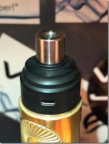IMG 9824 thumb - 【レビュー】GAS MODS G.R.1 RDA(ガスモッズ ジー・アール・ワン )レビュー~ロープロシングルドリッパー~【RDA】