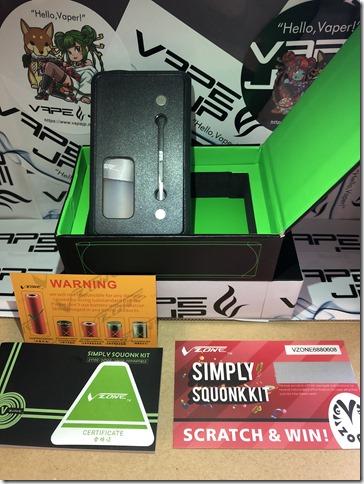 IMG 9829 thumb - 【レビュー】VZONE SIMPLY SQUONK KIT(ブイゾーン・シンプリー・スコンクキット)~いらないものは削ぎ落とす…斬り捨て御免系MOD(乂'ω'*)・3種類バッテリー対応のプラスチックスコンカー~ 【スコンカーキット】