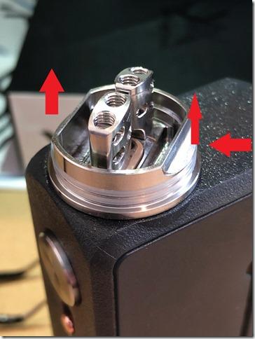 IMG 9845 thumb - 【レビュー】VZONE SIMPLY SQUONK KIT(ブイゾーン・シンプリー・スコンクキット)~いらないものは削ぎ落とす…斬り捨て御免系MOD(乂'ω'*)・3種類バッテリー対応のプラスチックスコンカー~ 【スコンカーキット】