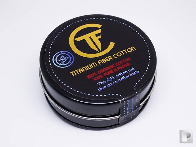 P2270710 Edit thumb - 【レビュー】「Titanium Fiber Cotton(チタニウムファイバーコットン)」レビュー。吸水性、耐水性に優れるリキッド供給速度抜群の100%インドネシア産コットン!Promist Vaporさんおススメ!ケンドーコットンとの比較もあるよ
