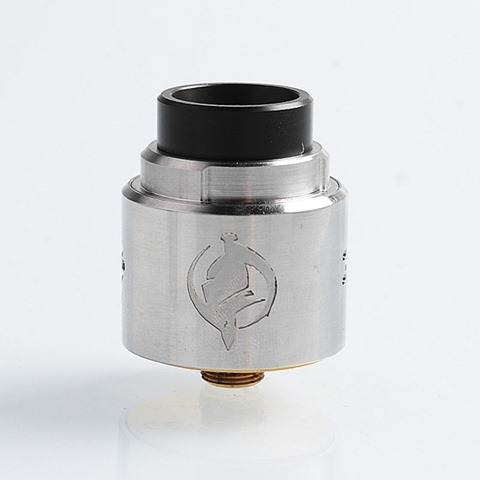 authentic augvape templar rda rebuildable dripping atomizer w bf pin silver stainless steel 24mm diameter thumb - 【海外】「Digiflavor Themis RTA」「Kanger UBOAT Starter Kit 550mAh」「Augvape Templar RDA」「Cotton Bacon Prime by Wick 'N' Vape」