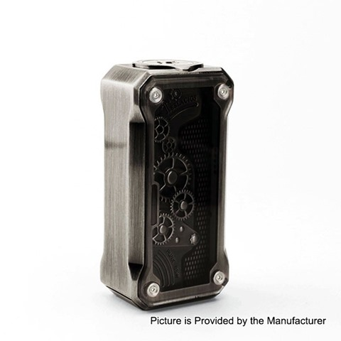 authentic tesla punk mini 85w tc vw variable wattage box mod black zinc alloy abs pc 785w 1 x 18650 thumb - 【海外】「Digiflavor Themis RTA」「Kanger UBOAT Starter Kit 550mAh」「Augvape Templar RDA」「Cotton Bacon Prime by Wick'N' Vape」