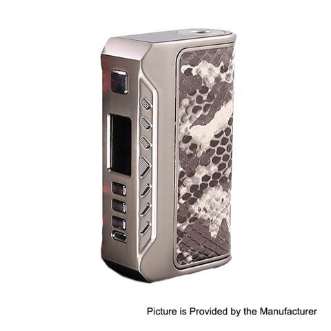 authentic thinkvape thunder 200w tc vw variable wattage box mod silver 1200w 2 x 18650 thumb - 【海外】「SXmini G Class 200W」「Hellvape Aequitas 24 BF RDA」「ThinkVape Thunder 200W」「Vandy Vape Pulse BF 80W」