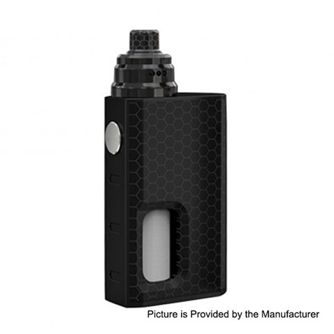 authentic wismec luxotic 100w squonk box mod tobhino bf rda kit black honeycomb 75ml 1 x 18650 22mm diameter thumb - 【海外】GeekVape Loop RDA、Sigelei 230W Fuchai R7 Kit with T4 Tank、SMOK V-Fin 160W TC Box Mod - 8000mAh