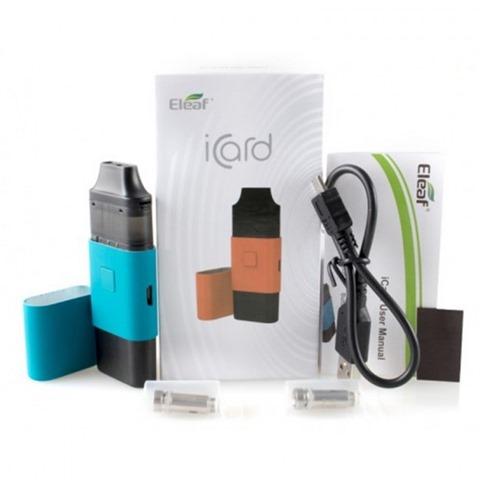 "eleaf icard kit 1 thumb - 【海外】「Hellvape Anglo RDA」「Eleaf iCard Kit 15W 650mAh」 「Coil Father""8"" Folding Scissor」"