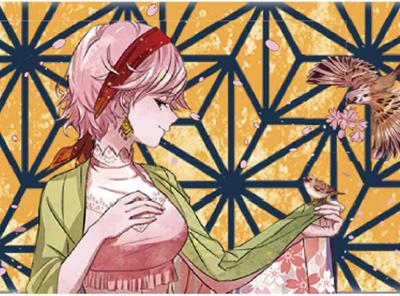 hanami thumb 400x296 - 【新製品】MK LabのKOI-KOI(こいこい)五光シリーズ最終作「花見-Bloom Night-(ハナミブルームナイト)」がついに登場! 【雨流れ、霧流れ、月見、三光、花見】