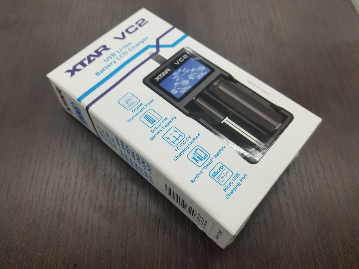 20180409 172621 - 【レビュー】XTAR(エクスター)VC2 Battery Charger。バッテリー充電器ならコレで決まり!【XTAR/エクスター】