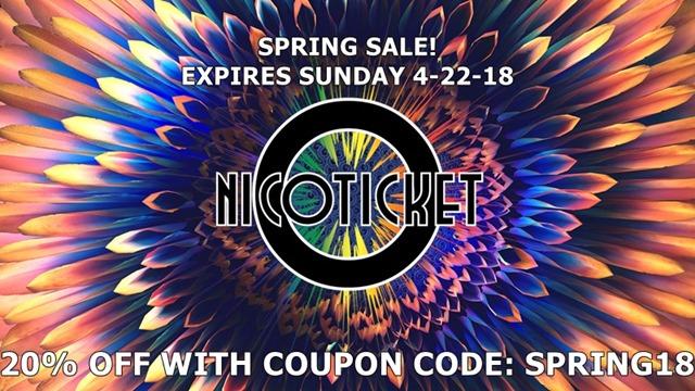 8d786dd7 8fa1 4fd2 9326 22b948870aa3 thumb - 【セール】Nicoticket(ニコチケット)で春のスプリングセール、リキッド20%オフクーポンコードでWakondaやVirusが安く購入できるぞ!