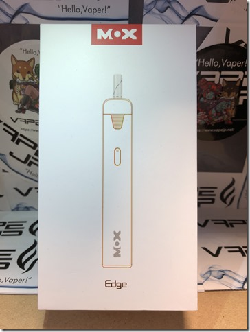 IMG 0107 thumb - 【レビュー】MOX-Edge Heating Device(モックス-エッジ ヒーティング デバイス)~最近流行りのアイコス互換機…まぁアイコス吸ったことないんだけどね(ΦдΦ)編~