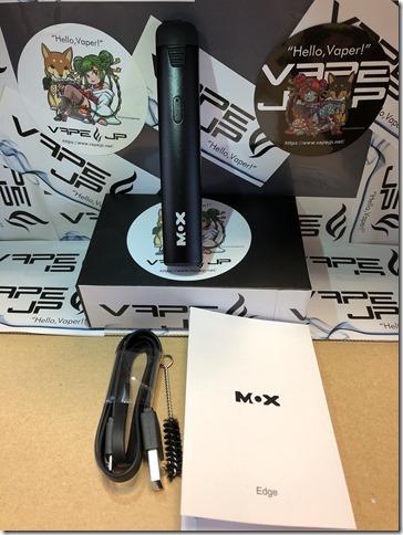 IMG 0108 thumb - 【レビュー】MOX-Edge Heating Device(モックス-エッジ ヒーティング デバイス)~最近流行りのアイコス互換機…まぁアイコス吸ったことないんだけどね(ΦдΦ)編~