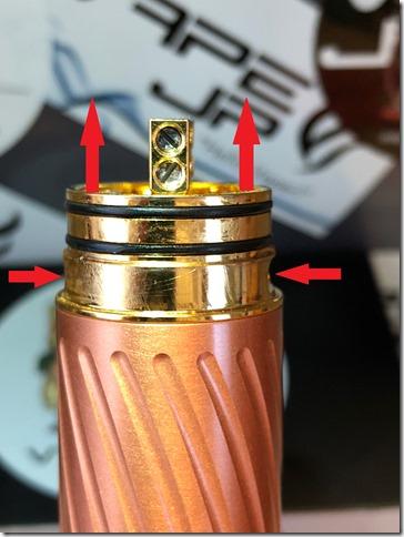 IMG 0140 thumb 1 - 【レビュー】GEEK VAPE KARMA2 KIT(ギークベイプ カルマ2 キット)~ギークベイプから大人気キットの2作目!対応電池が増えてバージョンアップ…まぁ映画でも2作目って…ね(ΦдΦ)編~【スターターキット・メカニカル】