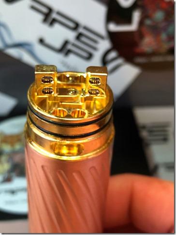 IMG 0141 thumb 1 - 【レビュー】GEEK VAPE KARMA2 KIT(ギークベイプ カルマ2 キット)~ギークベイプから大人気キットの2作目!対応電池が増えてバージョンアップ…まぁ映画でも2作目って…ね(ΦдΦ)編~【スターターキット・メカニカル】