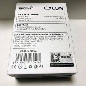 IMG 0425 300x300 - 【レビュー】キラッ☆彡なSMOANT CYLON TC218、液晶がカラーでかっこいいデュアルバッテリーなSMOANTのテクニカルMOD!!【MOD】