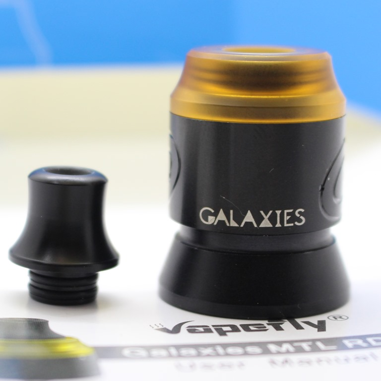 IMG 7859 thumb 1 - 【レビュー】Vapefly GALAXIES MTL RDA(ベイプフライ ギャラクシーズ MTL 22mm)シンプルだけど丁寧な作りの安定アトマ!MTLでフレーバーチェイスに