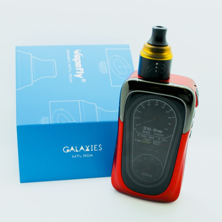 IMG 7872 thumb 1 - 【レビュー】Vapefly GALAXIES MTL RDA(ベイプフライ ギャラクシーズ MTL 22mm)シンプルだけど丁寧な作りの安定アトマ!MTLでフレーバーチェイスに