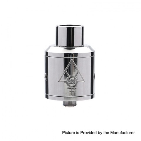 authentic 528 custom titanium goon rda rebuildable dripping atomizer silver titanium silver 24mm diameter thumb - 【海外】「Vaporesso Cascade One Plus 3000mAh Mod + Cascade Baby SE Tankキット」「Joyetech Exceed Edge 650mAh スターターキット」