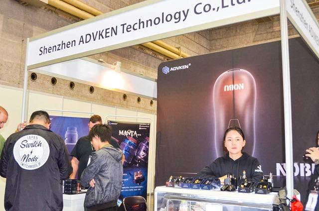 vapeexp b6 4 shenzenADVKENTCL008 0330 thumb - 【EXPO】ブース紹介:B6-4 ADVKEN(アドビケン)、C5-1 XTAR(エクスター)、E4 Clicker(クリッカー)&Fat Panda(ファットパンダ)、A5-4-B5-1 Hangsen(ハンセン)、C5-3 MK CAMP(エムケーキャンプ)【VAPE EXPO JAPAN 2018】