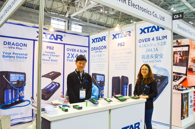 vapeexp c5 1 XTAR015 0330 thumb - 【EXPO】ブース紹介:B6-4 ADVKEN(アドビケン)、C5-1 XTAR(エクスター)、E4 Clicker(クリッカー)&Fat Panda(ファットパンダ)、A5-4-B5-1 Hangsen(ハンセン)、C5-3 MK CAMP(エムケーキャンプ)【VAPE EXPO JAPAN 2018】